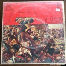 Discos de vinilo: DIMITRI TIOMKIN - EL ALAMO BSO - EP PHILIPS 1961 . Lote 162298558