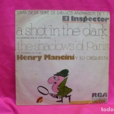 Discos de vinilo: HENRY MANCINI - A SHOT IN THE DARK, THE SHADOWS OF PARIS, VICTOR, RCA, 1972.. Lote 162309682