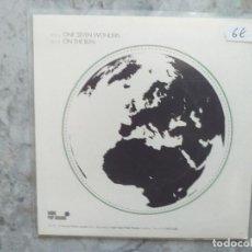 Discos de vinilo: THE RIOTS - ONE SEVEN WONDERS. SINGLE.. Lote 162311042