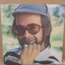 Discos de vinilo: LP ELTON JOHN ROCK IN THE WESTIES . Lote 162318190