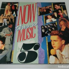 Discos de vinilo: LP DOBLE - NOW THIS IS MUSIC 5 - CARPETA DOBLE GATEFOLD - VARIOS ARTISTAS - 1986. Lote 162324062
