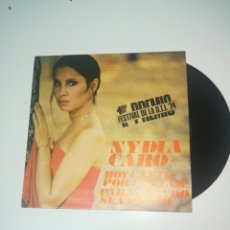 Discos de vinilo: NYDIA CARO - PRIMER PREMIO FESTIVAL OTI 1974. Lote 162333944