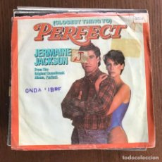 Discos de vinilo: (CLOSEST THING TO PERFECT) - BSO - JERMAINE JACKSON - SINGLE ARISTA USA 1985 . Lote 162341158