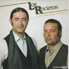 Dischi in vinile: LOS ROCIEROS,EL ROCIO ES LA VERDAD DEL 81. Lote 162347234