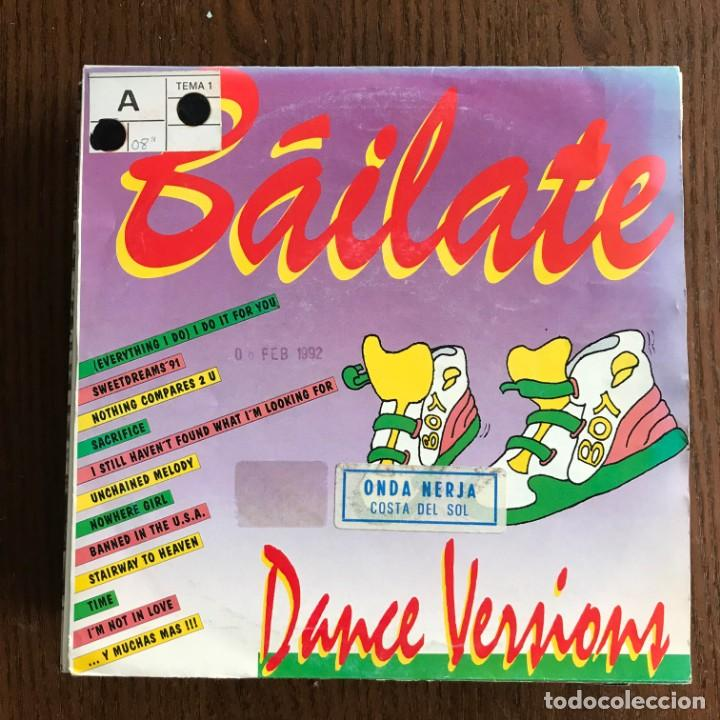 VV.AA. - BÁILATE MIX - SINGLE BOY 1991 PROMO UNA CARA (Música - Discos - Singles Vinilo - Techno, Trance y House)