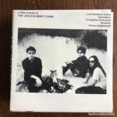 Discos de vinilo: VV.AA. - A LITTLE TRIBUTE TO JESUS & MARY CHAIN - EP MSR 1995 - INQUILINO COMUNISTA AUTOMATICS . Lote 162352046