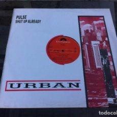 Vinyl-Schallplatten - MAXI SINGLE. PULSE. SHUT UP ALREADY. 1988, SPAIN - 162355534