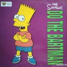 Discos de vinilo: MAXI LP THE SIMPSONS: DO THE BARTMAN (1990) BUEN ESTADO. Lote 162360202