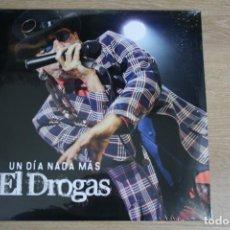Discos de vinilo: EL DROGAS, UN DIA NADA MAS, 3 LPS, ( BARRICADA ) GRABADO EN DIRECTO DESDE PAMPLONA, NUEVO. Lote 162361742