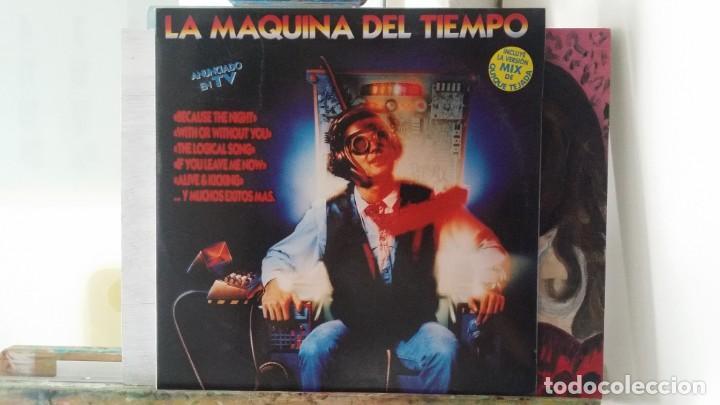 *** LA MAQUINA DEL TIEMPO - DOBLE LP AÑO 1993 - PORTADA DOBLE - LEER DESCRIPCIÓN (Música - Discos - LP Vinilo - Techno, Trance y House)