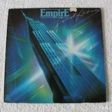 Discos de vinilo: EMPIRE: FIRST ALBUM - LP. ARIOLA 1981 - MADE IN GERMANY. Lote 162385278