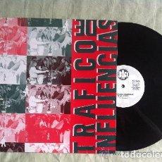 Discos de vinilo: TRAFICO DE INFLUENCIAS - NOCHE TROPICAL + SUEÑOS PROHIBIDOS - MAXI-SINGLE SPAIN 1990. Lote 162385898