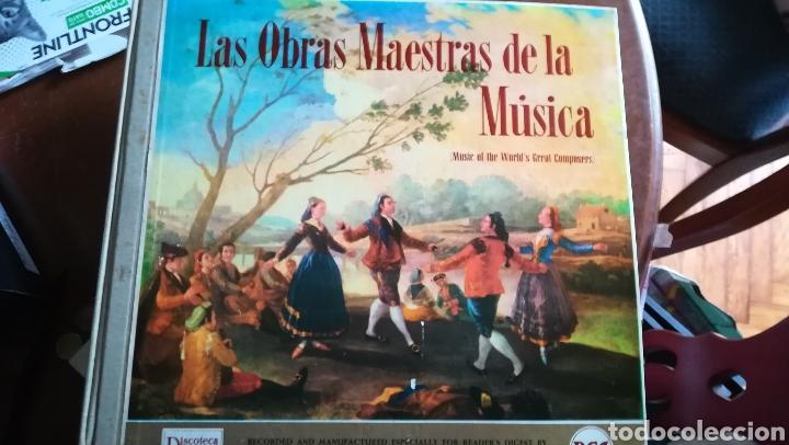 LAS OBRAS MAESTRAS DE LA MÚSICA. 12 DISCOS DE VINILO (Música - Discos - LP Vinilo - Clásica, Ópera, Zarzuela y Marchas)