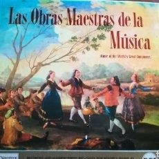 Discos de vinilo: LAS OBRAS MAESTRAS DE LA MÚSICA. 12 DISCOS DE VINILO. Lote 162392284