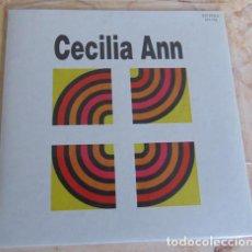 Discos de vinilo: CECILIA ANN – Y TÚ QUÉ HACES / A DAY IN THE LIFE - SINGLE VINILO COLOR. Lote 162393138
