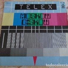 Discos de vinilo: TELEX – MOSKOW DISKOW - SINGLE 1980. Lote 162393298