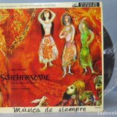 Discos de vinilo: LP. SCHEHEREZADE. PAUL KLETZKI. Lote 162402038