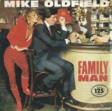 Discos de vinilo: MIKE OLDFIELD, FAMILY MAN. VIRGIN,1982 -SINGLE-. Lote 162406442