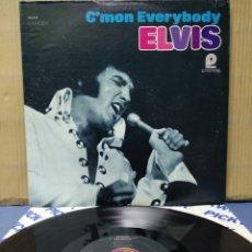 Discos de vinilo: ELVIS PRESLEY - C'MON EVERYBODY 1977 ( 1971 ) USA. Lote 162408416