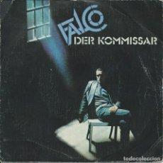 Discos de vinilo: FALCO, DER KOMMISSAR. A&M,1982 -SINLE-. Lote 162415210
