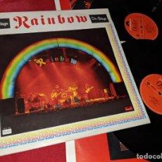 Discos de vinilo: RAINBOW ON STAGE 2LP 1977 POLYDOR GATEFOLD HOLLAND. Lote 175641922