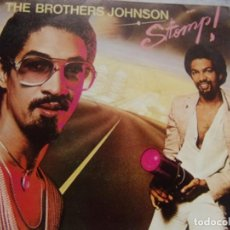 Discos de vinilo: THE BROTHERS JOHNSON - STOMP / LET'S SWING A &M RECORDS 1980. Lote 162421918