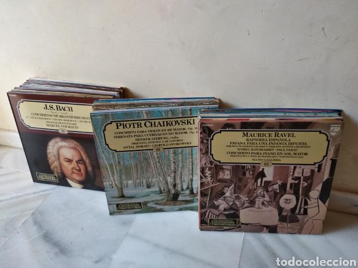 LOTE DE VINILOS GRANDES COMPOSITORES DE LA HISTORIA (Música - Discos - Singles Vinilo - Clásica, Ópera, Zarzuela y Marchas)