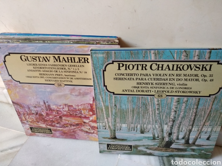 Discos de vinilo: Lote de vinilos Grandes Compositores de la Historia - Foto 9 - 162424232