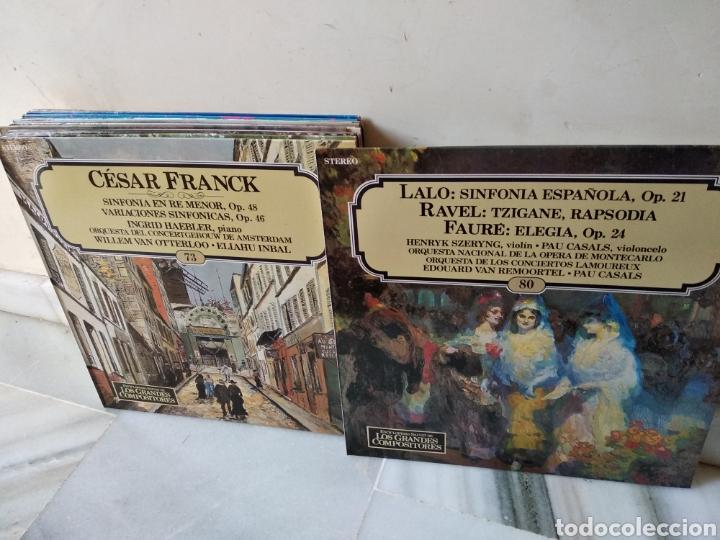 Discos de vinilo: Lote de vinilos Grandes Compositores de la Historia - Foto 10 - 162424232