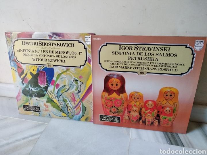 Discos de vinilo: Lote de vinilos Grandes Compositores de la Historia - Foto 13 - 162424232