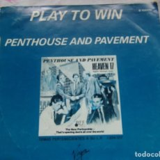 Discos de vinilo: HEAVEN 17- PLAY TO WIN / PENTHOUSE AND PAVEMENT VIRGIN 1982. Lote 162425362