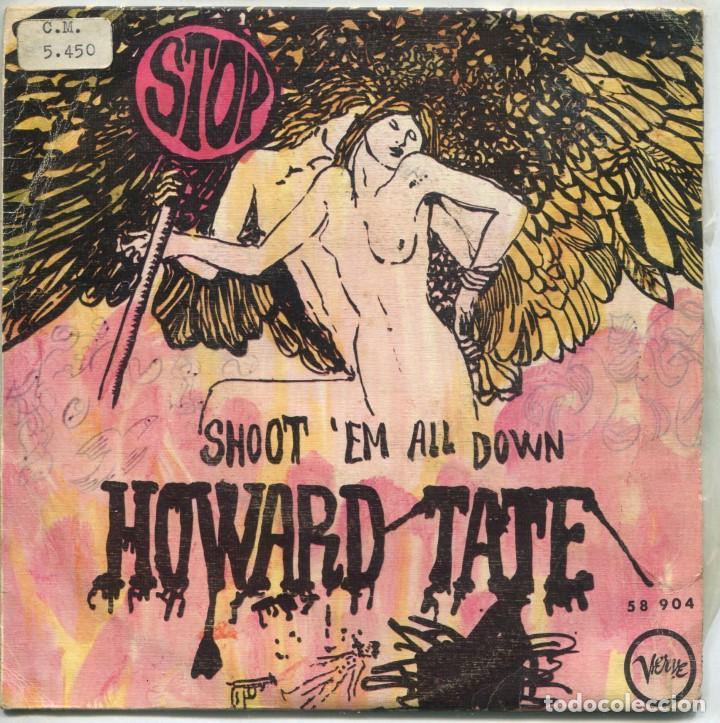 HOWARD TATE / STOP / SHOOT 'EM ALL DOWN (SINGLE 1968) (Música - Discos - Singles Vinilo - Funk, Soul y Black Music)