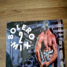 Discos de vinilo: LP BOLERO 2 MIX. Lote 162440366