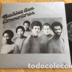 Discos de vinilo: COMMODORES - MACHINE GUN (LP, ALBUM) . Lote 162445290