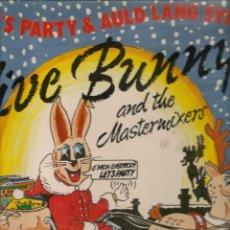 Discos de vinilo: LET´S PARTY & AULD LANG SYNE. JIVE BUNNY. BOY RECORDS. LP. (RF.MA)Ñ. Lote 162460454