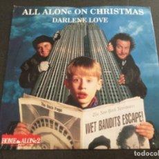 Discos de vinilo: ALL ALONE ON CHRISTMAS - DARLENE LOVE . Lote 162471022