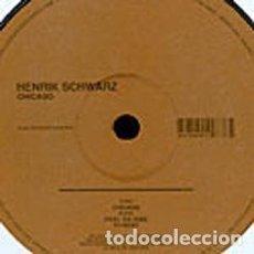 Discos de vinilo: HENRIK SCHWARZ – CHICAGO / MOODMUSIC – MOOD 023 / 2003. Lote 162480630