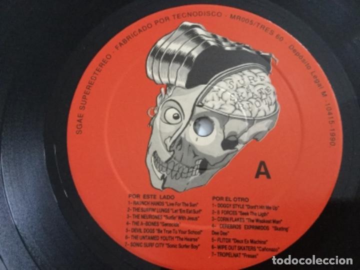 Discos de vinilo: Ties 60 presenta : The surf & Skate Riot . Vol 1 - Foto 4 - 195354915