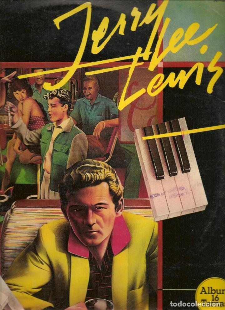 JERRY LEE LEWIS. ÁLBUM 16 TEMAS. LP. (RF.MA)Ñ (Música - Discos - LP Vinilo - Otros estilos)