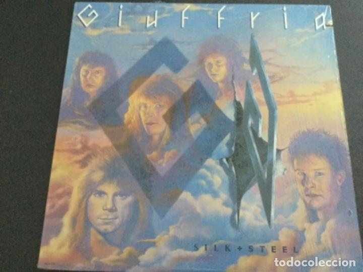 SILK & STEEL - GIUFFRIA .USA (Música - Discos - LP Vinilo - Heavy - Metal)