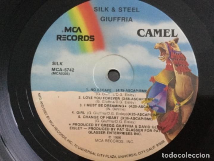 Discos de vinilo: Silk & Steel - Giuffria .USA - Foto 4 - 162485466
