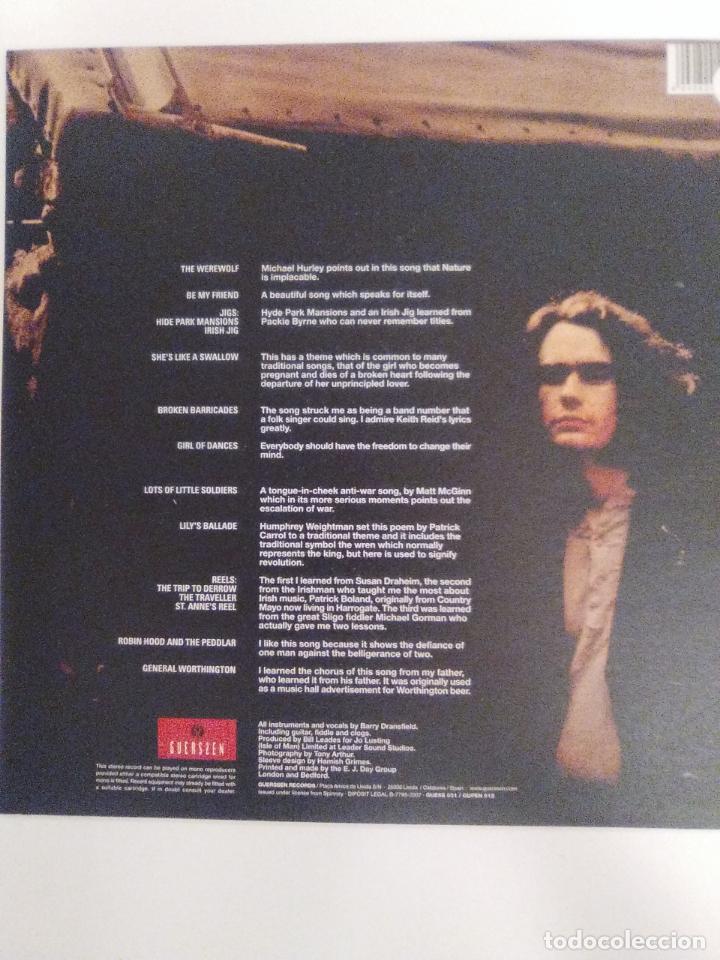 Discos de vinilo: BARRY DRANSFIELD ( 1972 GUERSSEN 2007 ) EXCELENTE ESTADO STEELEYE SPAN FAIRPORT CONVENTION - Foto 2 - 162489354