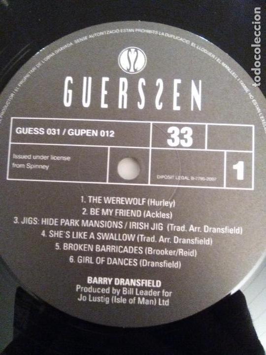 Discos de vinilo: BARRY DRANSFIELD ( 1972 GUERSSEN 2007 ) EXCELENTE ESTADO STEELEYE SPAN FAIRPORT CONVENTION - Foto 4 - 162489354