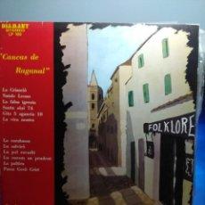 Discos de vinilo: LP PINO PIRAS : CANCAS DE REGANAL ( REGISTRAZIONE DI CANTI FOLK DI ALGHERO ) . Lote 162490662