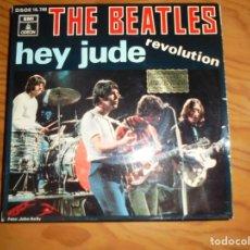 Discos de vinilo: THE BEATLES. HEY JUDE / REVOLUTION. ODEON 1968. Lote 162491874