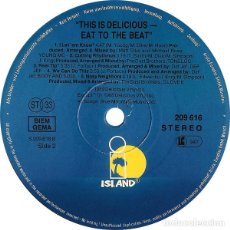 Discos de vinilo: THIS IS DELICIOUS - EAT TO THE BEAT / ISLAND RECORDS ‎/ 1989. Lote 162509930