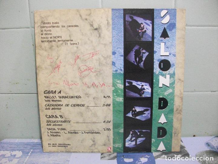 Discos de vinilo: SALON DADA -BALLET SUBACUATICO MAXI 1984 POP NEW WAVE movida ASTURIAS pepeto - Foto 2 - 162522290