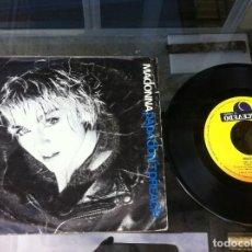 Disques de vinyle: SINGLE. MADONNA. PAPA DON'T PREACH - AIN'T NO BIG DEAL. 1986. Lote 162537674