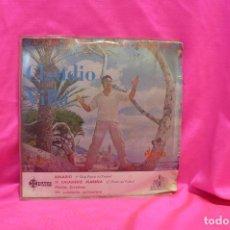 Discos de vinilo: 1ER, FESTIVAL DE LA CANCION MEDITERRANEA, CLAUDIO VILLA, BINARIO, TI CHIAMERÓ MARINA 2º PREMIO + 2 -. Lote 162537786
