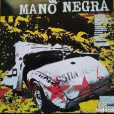 Discos de vinilo: MANO NEGRA - KING OF BONGO (LP) 1991. Lote 162540878